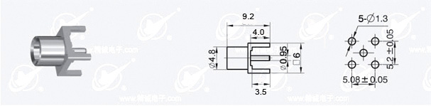 MXC socket schematic