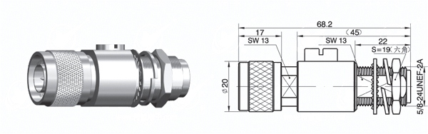 Light arrestor 6GHz