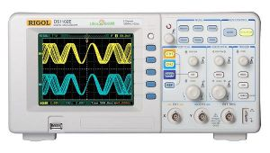 Rigol Digital Storage Oscilloscope DS1102E  100MHz, 1Gs/S, 2-Channels, Color LCD