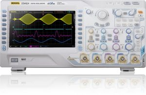 "Rigol Digital Storage Oscilloscope DS4012  100MHz, 4Gs/S, 2-Ch, 9"" color LCD"