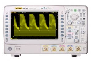 Rigol Digital Storage Oscilloscope DS6104  1GHz, 5Gs/S, 4-Channels, Color LED