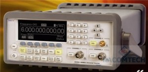 ARRAY U6200AGC  6GHz  - GPIB The ARRAY U6200A universal counter, whose production procedures conform to ISO 9001, has frequency resolution of 12 digits per second (Figure-1), 40 ps time interval resolution and a complete set of test and analysis features. The standard U6200A's CH3 comes with the range from 375 MHz to 6GHz and the standard CH1 & 2 from 1 mHz to 400 MHz.