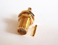 "SMA Jack  ( Socket )for Semi Flexible 0.086""  RG405 Cable Solder"