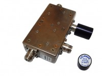 Alcatel Tunable VHF Coaxial Ferrite Isolator 136MHz-174MH  125W (Tunable)
