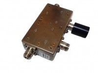 Alcatel Tunable VHF Coaxial Ferrite Circulator / Isolator 136MHz-174MH  125W (Tunable)