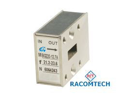 WAVEGUIDE ISOLATORS  WR-34, WR-42, WR-51, WR-62, WR-75, WR-90  (8.0-33)GHz Download Datasheet