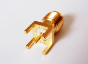SMA Jack for PCB Mounted  ( 5.08mm) Product  is in stock now!