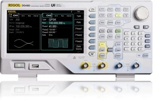 "Rigol  DG4062  60MHz, 500Msa/s  2Ch 7"" LCD 