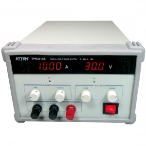 TPR3010S  Linear Regulated DC Power Supply 0-30V / 10A   TPR3010S Linear Regulated DC Power Supply 0-30V / 10A