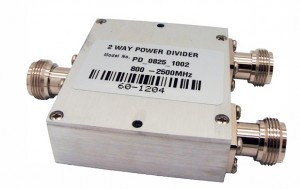 Wilkinson 2 way Power Splitters 800-2500MHz N TYPE RACOMTECH   Power Splitters 800MHz-2500MHz