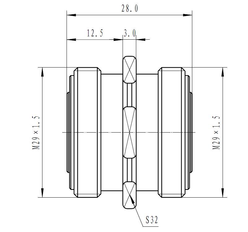 DIN716 -Socket adaptor