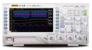Rigol DS1054Z SA-DS1000Z DS1000Z series are 4-channel digital oscilloscope bandwidth 50MHz ~ 100MHz, sample rates up to 1GSa / s, while bothdeep storage depth and high waveform capture rate, high-performance economical general purpose digital oscilloscopes. DS1000Z series uses many of today's advanced technology and processes, the overall performance reached the international advanced level, for the most widely used digital oscilloscope markets including communications, semiconductor, computer, aerospace and defense, instrumentation, industrial electronics, consumer electronics, automotive electronics, site maintenance, research / education and many other areas of universal design / debugging / testing requirements and design an oscilloscope.