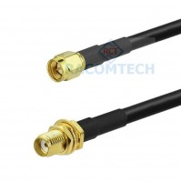 SMA Male to SMA Female LMR240-UF equiv Coax Cable