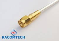 "SMA Plug for  RG402/U, 0.141""  cable  (18GHz)"