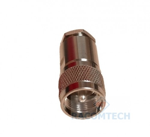 UHF PL259 Clamp Plug for RG8 RG213 LMR400 cable 50ohm  UHF PL259 Clamp  Plug for RG213 RG214 LMR400 cable
