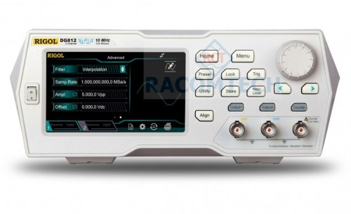 Rigol  DG811 Waveform Generator High quality one channel function / arbitrary waveform generator with 10 MHz bandwidth, 125 MSa/s and 2 Mpts memory (up to 8Mpts as option).
