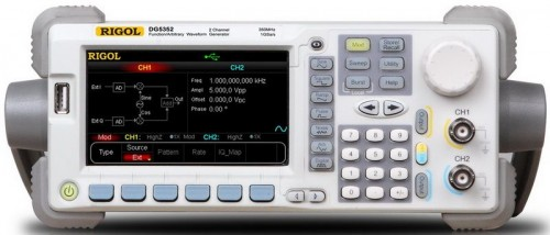 Rigol  DG5251  250MHz, 1Gsa/s  1Ch   Special Features: