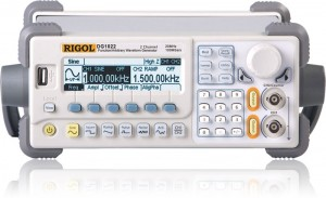 Rigol DG1022 20 MHz 2 channels  Rigol DG1022 20 MHz 2 channels output Function Arbitrary Waveform Generators with USB Host