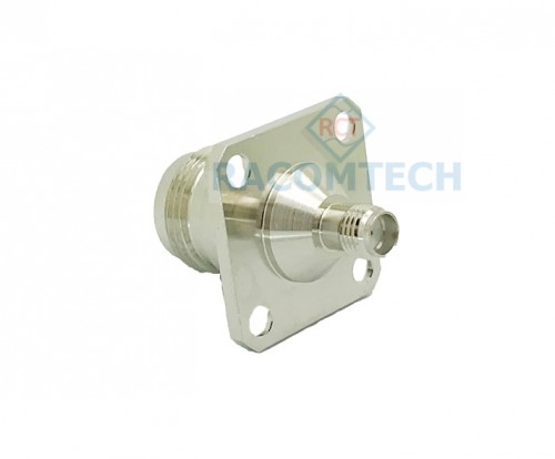 SMA Jack femal to N type femal connector Panel mounted adapter 50ohm SMA Jack female to N type female connector Panel mounted adapter 50ohm, 