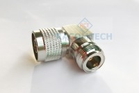 N type Male to Femal Right Angle  Adapter  50ohm