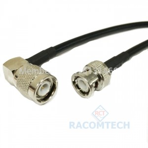 RG58 Cable  TNC/ male/RA - BNC/ male  Feature: