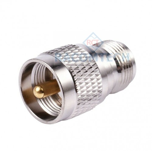 UHF PL-259  Plug male to N type  female connector adapter 50ohm