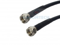 F male to F male LMR240-75 Times Microwave Coaxial Cable 75ohm