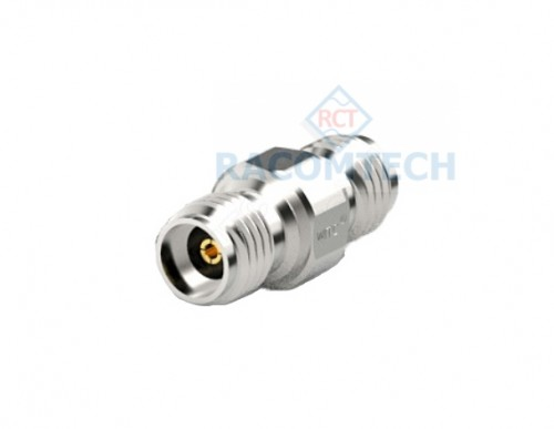 3.5mm (female) to 3.5mm (female) Adapter  26.5 GHz Stainless Steel The 3.5mm–FF-26.5-110 adapter is the option adapter for 3.5mm port calibration kit. The adapter frequency range is covered from DC to 26.5GHz. The EUC900-3.5mm calibration kit can replace Agilent 85033E calibration kits, the 85033E calibration coefficient data can be used directly to achieve the high calibrations specification below