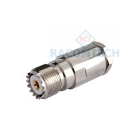 UHF SO239 Clamp socket  for RG213, LMR400  Cable  50 ohm