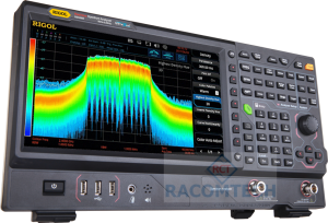 Rigol RSA5032 -TG  Real Time Spectrum Analyzer 9KHz - 3.2GHz  Engineers integrating WiFi, Bluetooth and other modern RF technologies are confronted with complex challenges like frequency hopping signals, channel conflict, and spectrum interference.  Real-Time Spectrum Analyzers bring the dimension of time to RF Analysis making it easier to monitor and characterize these complex RF systems.  The RSA5000 combines industry leading realtime performance (7.45µs 100% POI), rich data displays, and advanced triggering options allowing the user to quickly capture, identify and analyze these complex events.