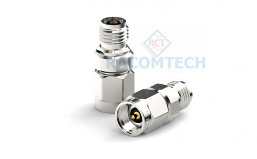 3.5mm (male) to 3.5mm (female) Adapter  26.5 GHz Stainless Steel  The 3.5mm–MF-26.5-110 adapter is the option adapter for 3.5mm port calibration kit. The adapter frequency range is covered from DC to 26.5GHz. The EUC900-3.5mm calibration kit can replace Agilent 85033E calibration kits, the 85033E calibration coefficient data can be used directly to achieve the high calibrations specification below