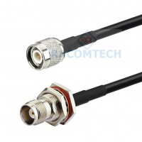 TNC female to TNC male LMR195 Times Microwave Coax Cable RoHS