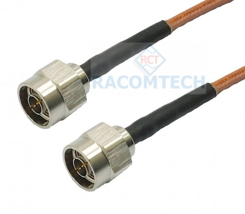 RG142 Mil17/60 Cable   N / Male - N / Male  RG142 Mil17/60 Cable   Assembly  DC-6GHz ( up to 12GHz)