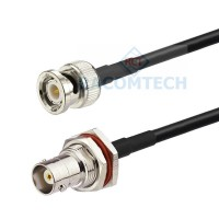 BNC male to BNC Bulkhead female  RG58  Coaxial Cable