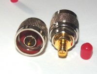 N Plug (male) to RP-SMA socket  (pin) Adapter