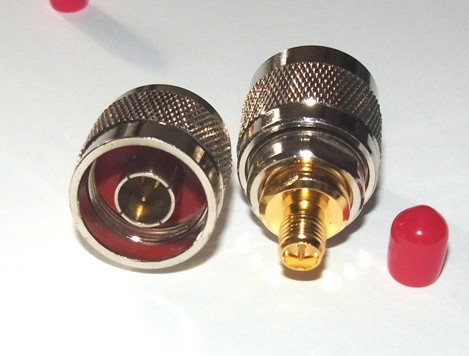 N Plug (male) to RP-SMA socket  (pin) Adapter N Plug (male) to RP-SMA socket  (female) Adapter