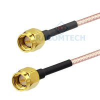 SMA male to SMA male RG316 Coax Cable