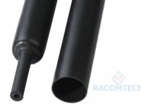 40mm Heat shrink Tube - Glue Lining 4:1 - Black
