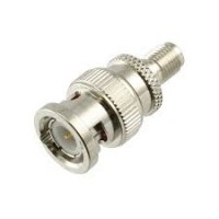 SMA (Jack) To  BNC ( Plug )  adapter 50 ohm