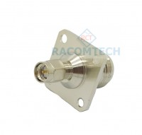 N female to SMA male  Flange adapter  50ohm