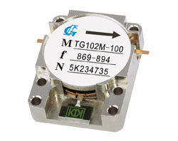Stripline Isolators 0.8GHz-2.8GHz Feature: