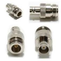 BNC female to Type N  female coax adapter 50ohm