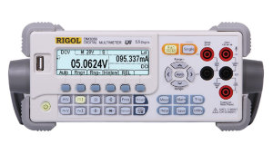RIGOL DM3058   5 1/2 Bench Dual Display Multimeter LAN/USB DM3058 is a 5 1/2 dual display digital multimeter,It is designed for the needs of high precision, multifunction, automatic measurements of industrial products