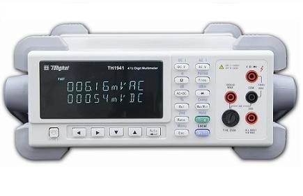 TH1941  4 1/2-digit true-RMS digital multimeter  TH1941 4 1/2-digit true-RMS digital multimeter is voltage,current,resistance tester with multi functions and low cost.