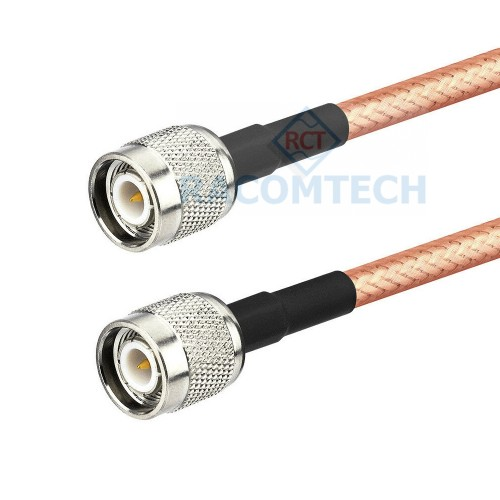 RG142 cable TNC male to TNC male   RG142 Cable TNC male to TNC male   DC-6GHz