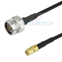 TIMES LMR200 Cable with N (M) - SMA(M)