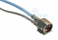N male Connector for Sucoflex 104, CNX3449  Cable 18GHz