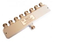8 Way Power Divider N type sockets 5-500MHz ( Atlan Tec AS 4262-01) for  HF VHF UHF Receiver Multicoupler