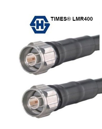 SUHNER  N(M) - N(M) TIMES LMR400 Coax Cable   3M -15M    TIMES MICROWAVE LMR 400 CABLES, HUBER SUHNER CONNECTORS