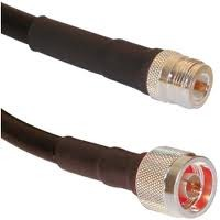 N male to N female LMR400 coax cable  3M - 15M